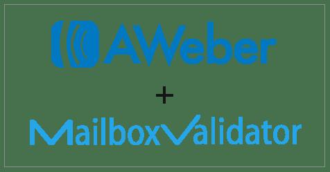 AWeber and MailboxValidator Integration