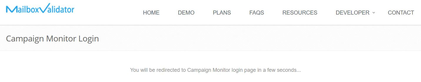 Integration with Campaign Monitor