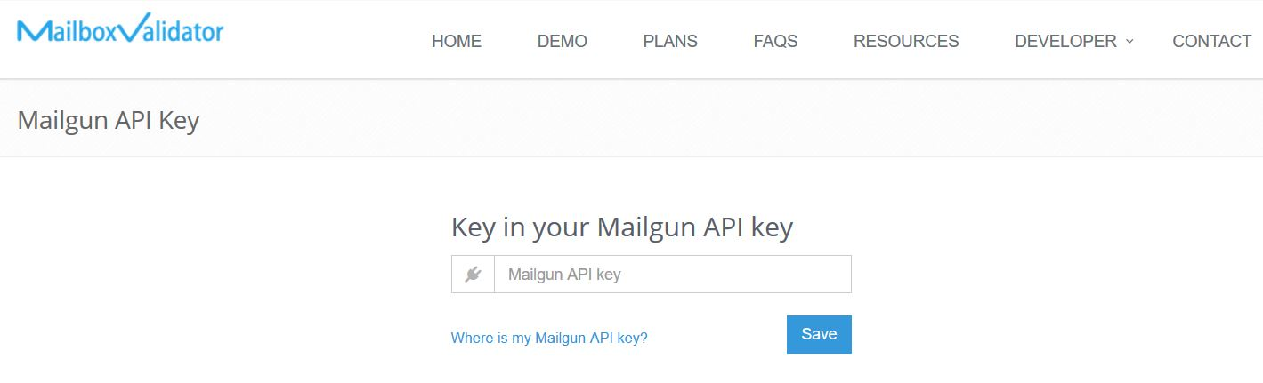 Integration with Mailgun