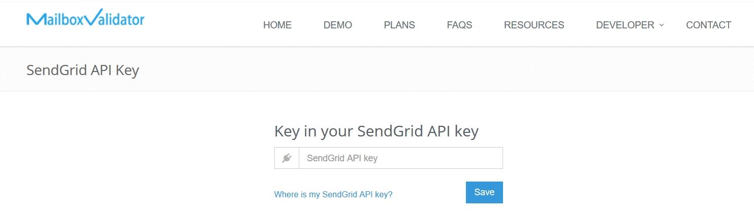 Integration with SendGrid