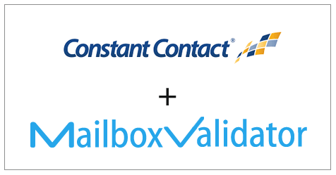 Constant Contact and MailboxValidator Integration