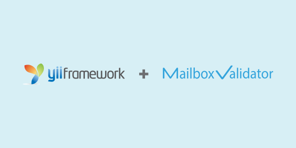 How-to-use-MailboxValidator-Yii-Extension-to-validate-email